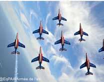 PATROUILLE DE FRANCE LES VENDREDI 23/08 ET SAMEDIS 24/08 PLAGE TRESTRAOU