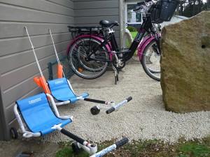 vélos électriques et swinroller
