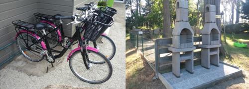 barbecue collectif : vélos à assistance électrique (en supplément)
