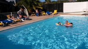 piscine haute saison